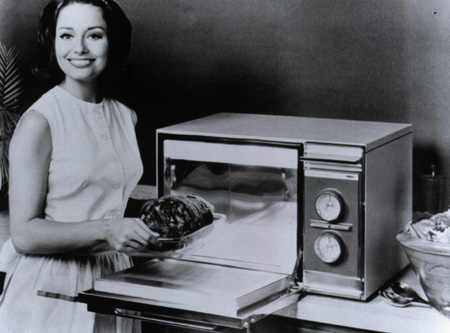 Микроволновая печь образца 1967 года