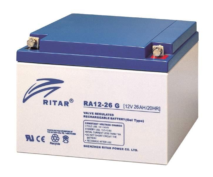 RITAR RA 12-26 G - GEL-аккумулятор