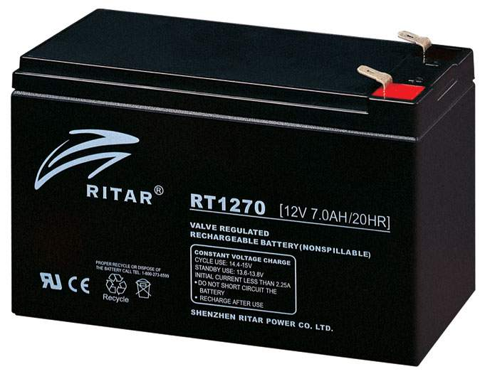 Ritar RT1270 AGM Battery