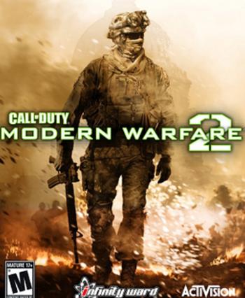 Call of Duty 6 Modern Warfare 2 Box