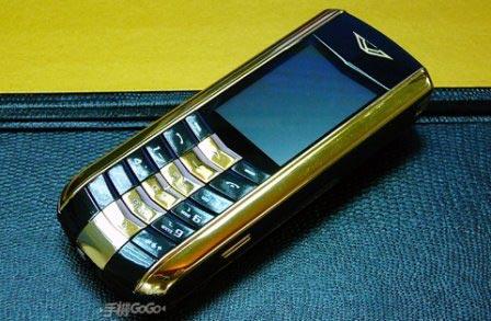Китайский Vertu Signature S Gold