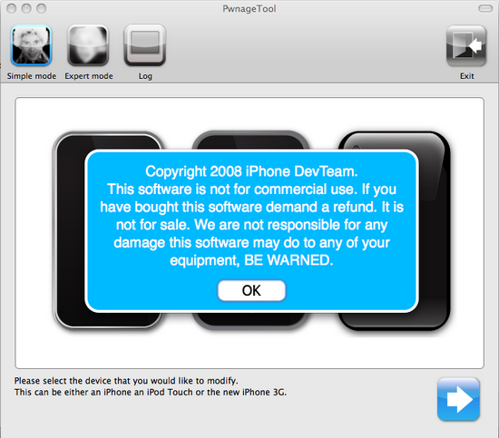 iPhone 3G PWNage Tools