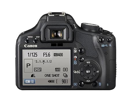 Canon EOS 500D экран