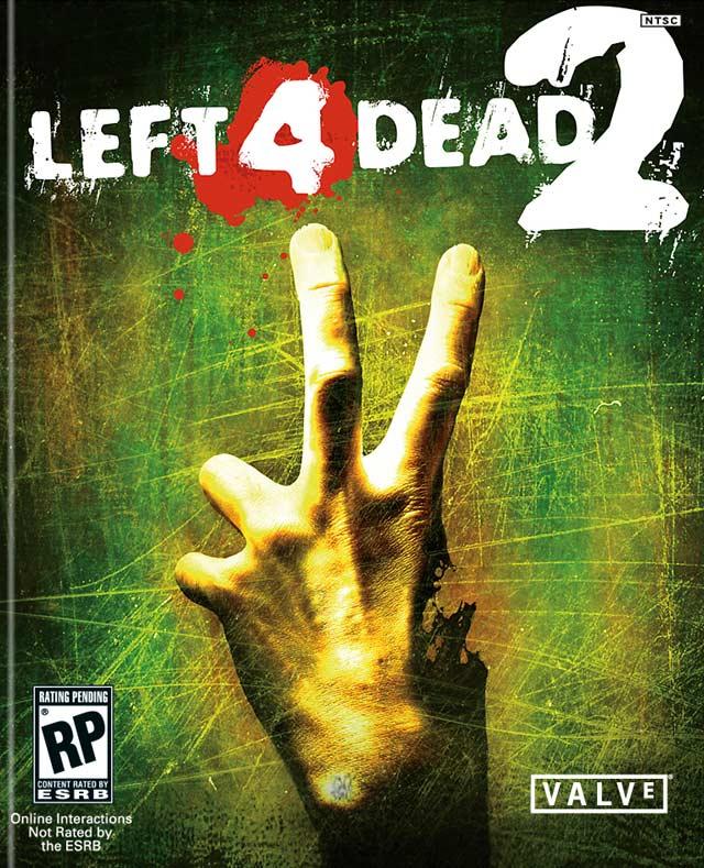 Left 4 Dead 2 коробка