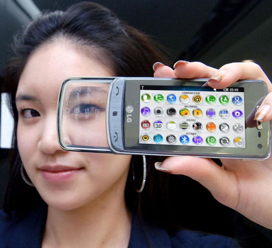 LG GD900 Glass