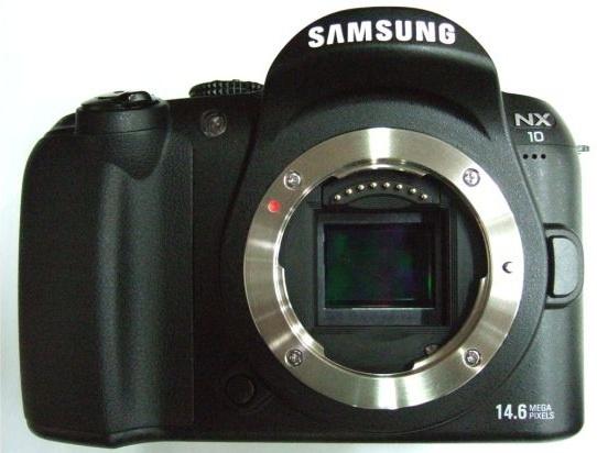 Samsung NX10 body