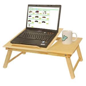 Столик для ноутбука? Только из бамбука!