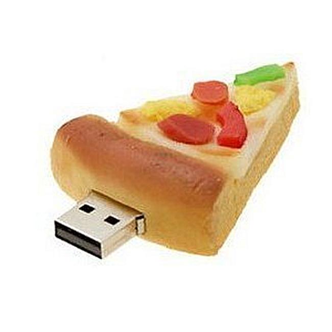 High Quality 16 GB Cool Pizza Style USB Flash Drive