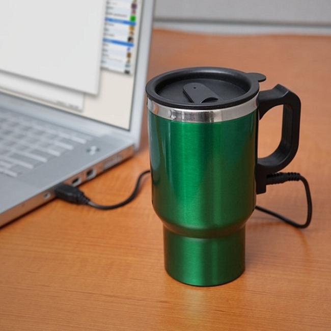 Dual Heated Travel Mug