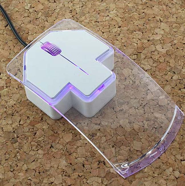 Как сделать мышь прозрачной