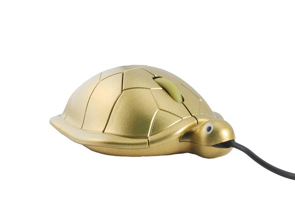 Turtle Look USB Mouse
