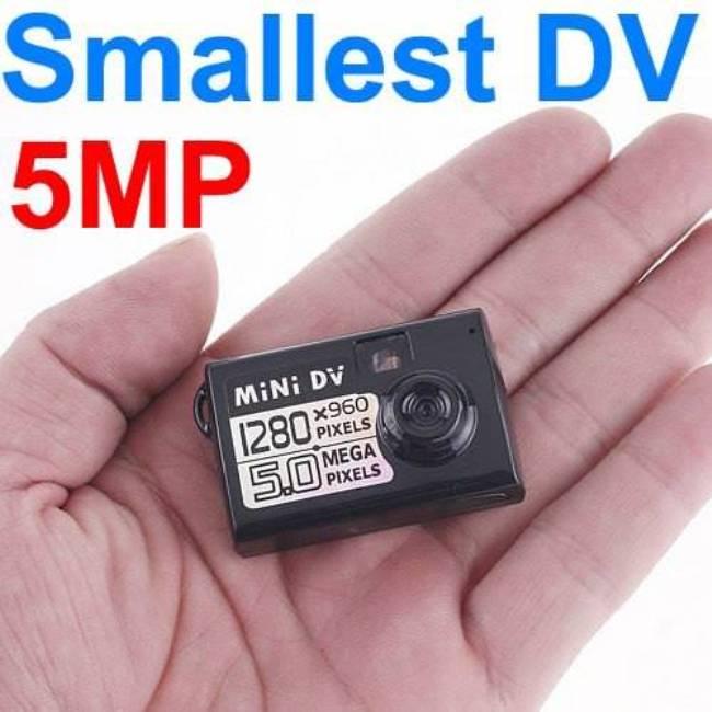 Smallest Mini DV Spy Camera