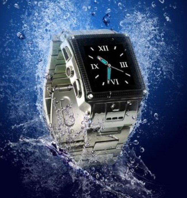 Water Proof Stainless Steel Watch Mobile Phone