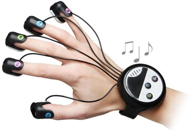 Japanese Wrist-Mounted Finger Pian