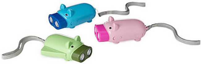 Eco-Friendly Pig LED Flashlight