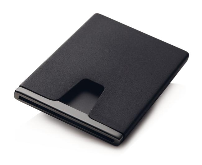 Black Titanium Card Beeper