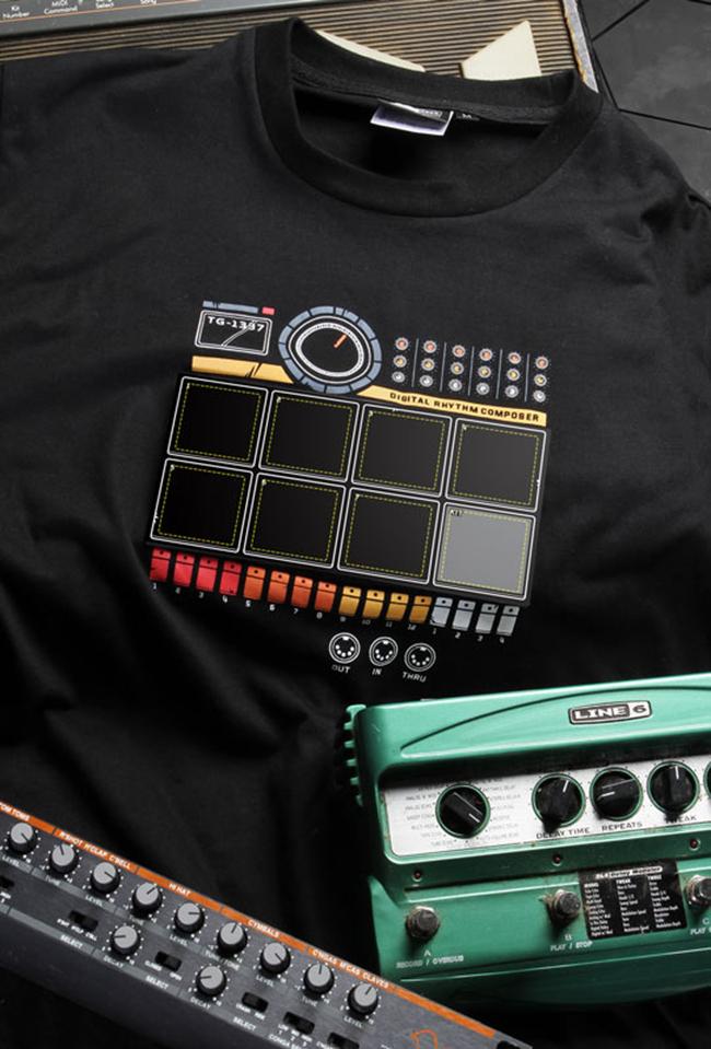 Electronic Drum Machine T-Shirt