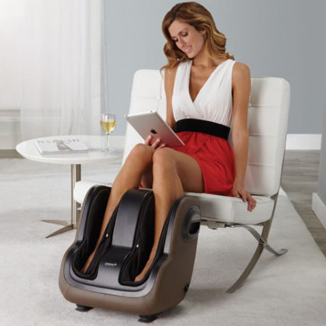 SIM uSqueez App-Controlled Foot & Calf Massager