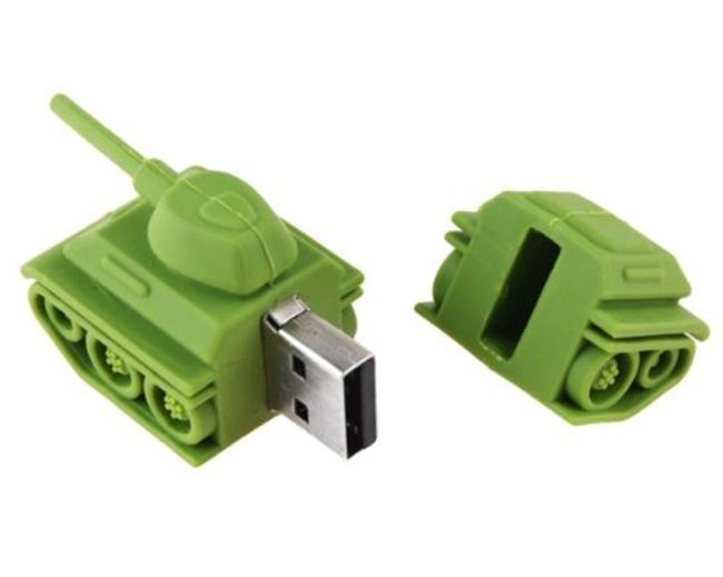 Cartoon Tank Shaped 16GB USB Drive