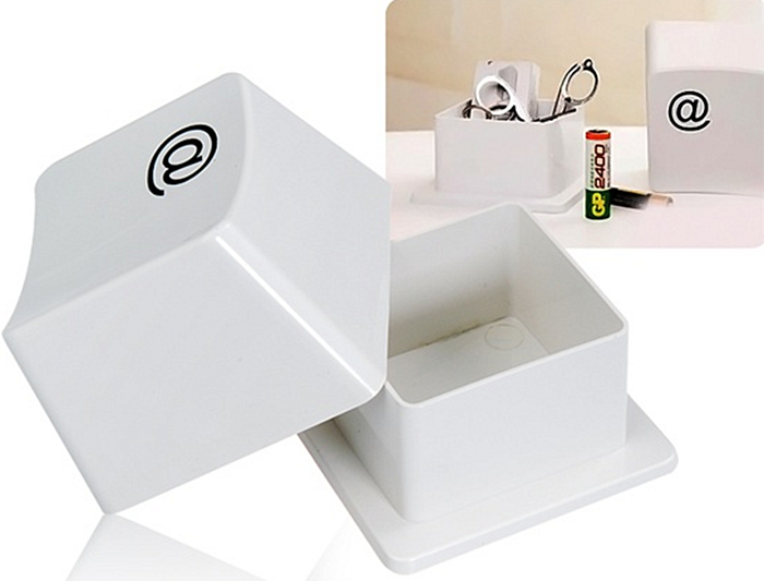 Keyboard Key Design Storage Box