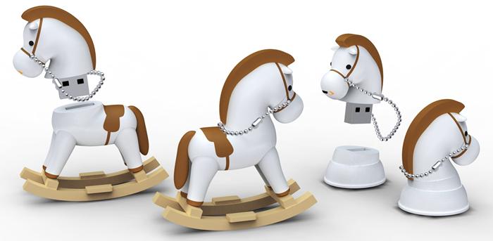 Ikonik USB 2.0 ICONIK RB-HORSE-4GB ЛОШАДЬ