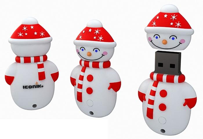 USB 2.0 флэш накопитель RB-SM1-16GB Снеговик