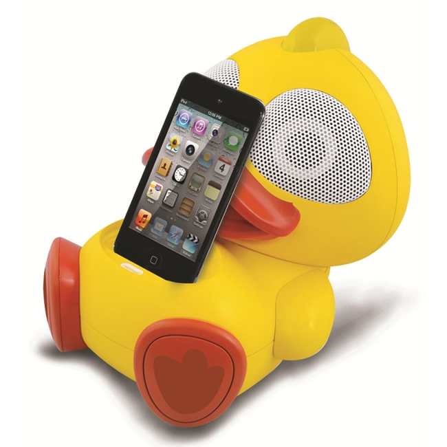 Electric Friends Kwack Kwack Duck Speaker Docking Station For iPod And iPhone