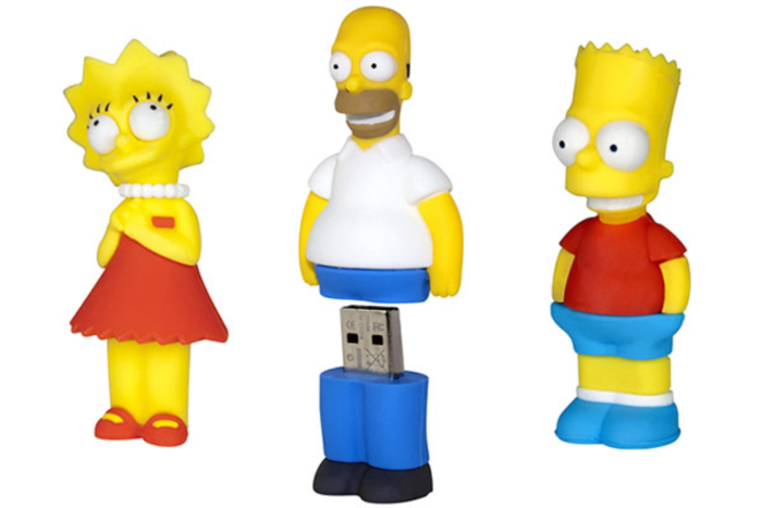 The Simpsons USB Flash Drives