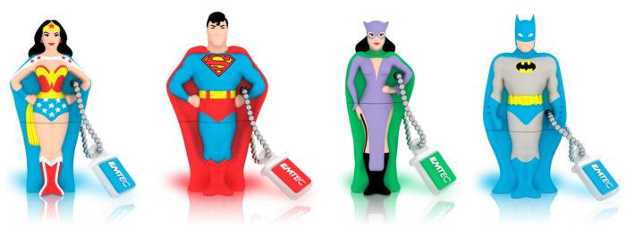 Super Heroes 4 GB USB 2.0 Flash Drive