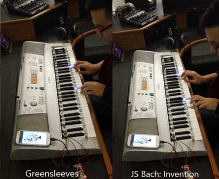 Led Piano Guide