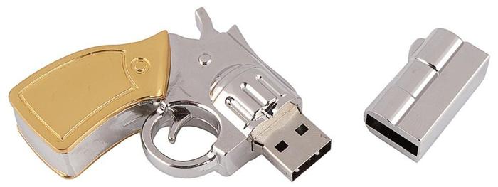 32GB Metal Gun shape USB3.0 Flash drive