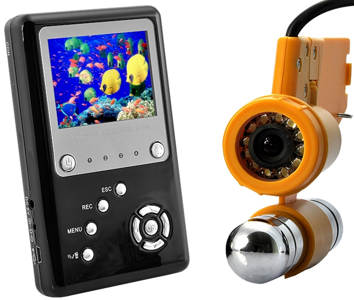Professional Underwater Video Camera with Wireless Viewscreen