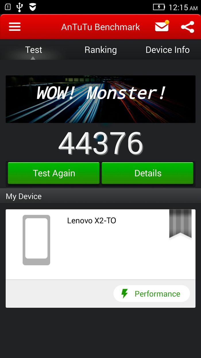 Lenovo VibeX2