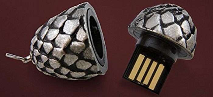 Game of Thrones Dragon Egg USB Flash Drive.