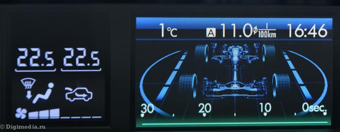 тест драйв Subaru Forester