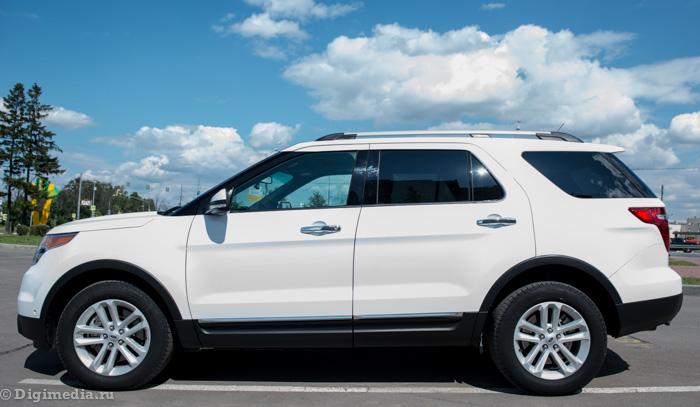 тест драйв Ford Explorer