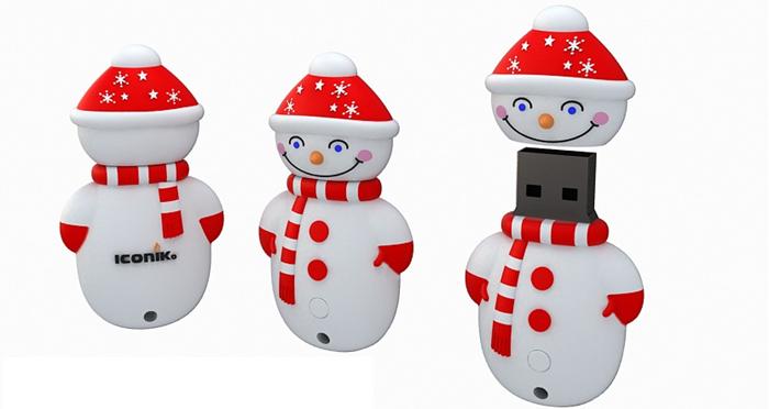 """подарки на новый год ICONIK """"Снеговик"""""""