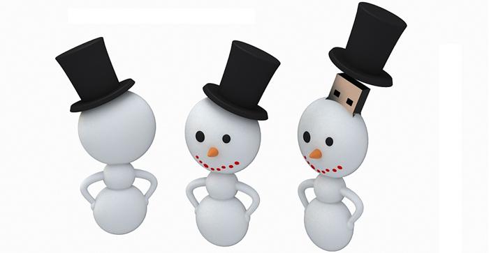"""подарки на новый год ICONIK """"Снеговик""""."""
