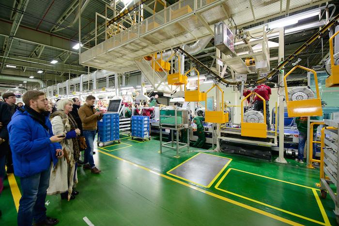 Фабрика LG