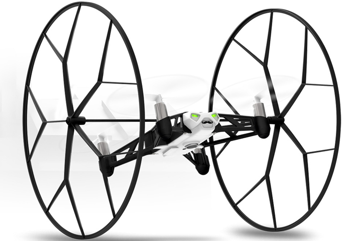 Parrot Jumping Sumo и Rolling Spider