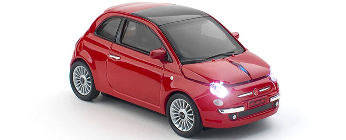 Car Fiat 500 Optical Wireless Mouse