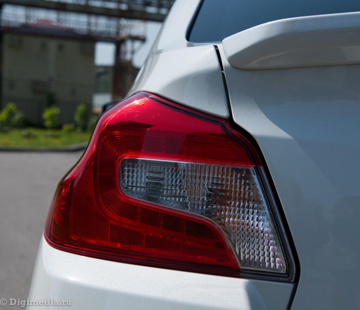 тест драйв Subaru WRX