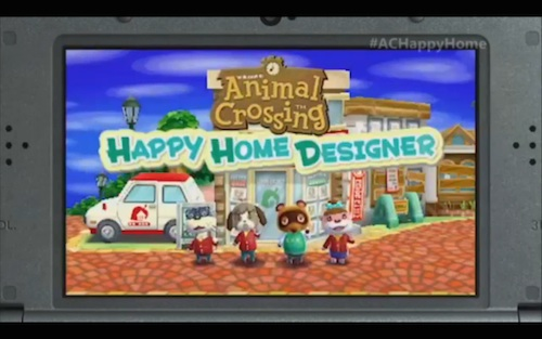 E3 2015 Animal Crossing Happy Home Designer