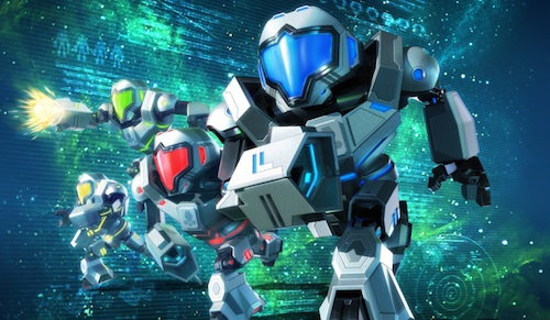 E3 2015 Metroid Prime: Federation Force