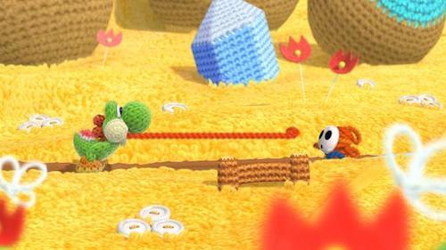 E3 2015 Yoshi's Woolly World