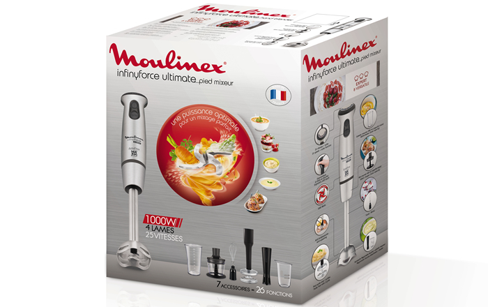 Moulinex Infiny Force Ultimate 1000W DD878