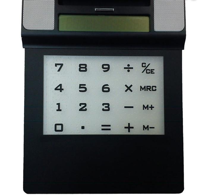 Коврик для мышки с калькулятором, динамиком и USB-хабом 31ВЕК SEG-0314
