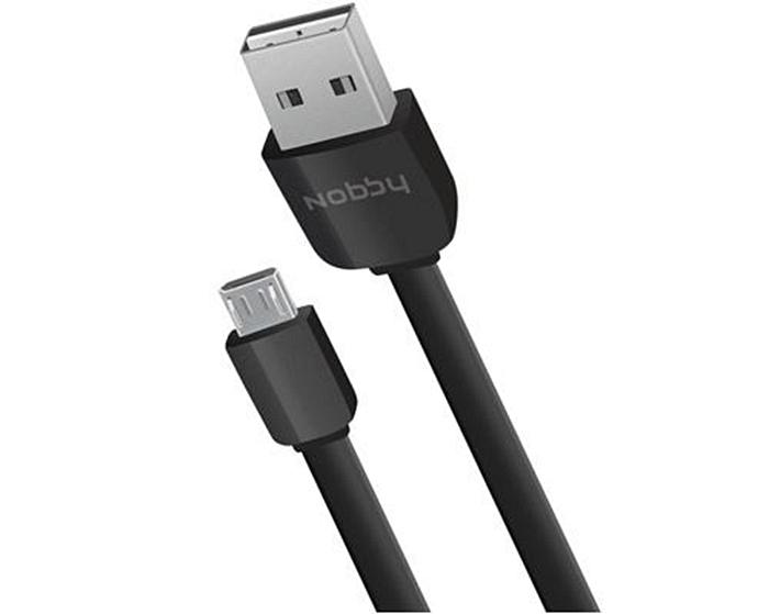 Кабель 010-001 USB-microUSB 1.0м, с 2-мя двусторонними коннекторами