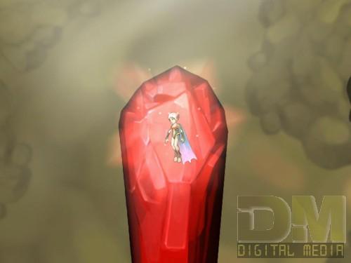 Подобные кристаллы заменяют в игре опцию сохранения