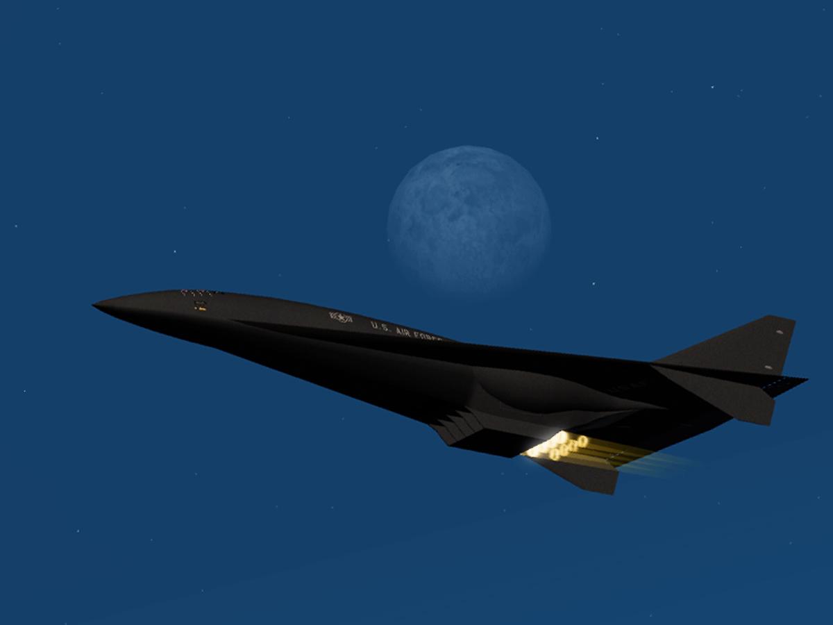Проект Aurora hypersonic X-plane